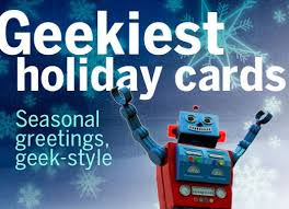 geekiest holiday cards cio