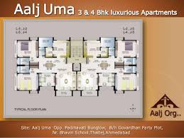 Uma Floor L Aalj Uma 3 4 Bhk Luxurious Appartment