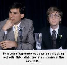Bill Gates And Steve Jobs Meme - 40 very funny bill gates photos and images