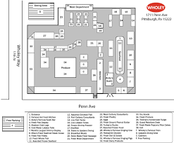 Floor Plan Of A Store Store Map Pittsburgh Robert Wholey Company