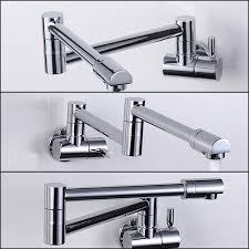 aliexpress com buy folding copper sink chrome wall mount kitchen