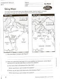 map skills worksheets u2013 wallpapercraft