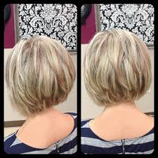 how to cut hair in a stacked bob ombre hair color trends is the silver grannyhair style
