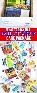 what to pack in a care package the pinning