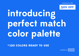 perfect match colors perfect match color palette palettes creative market