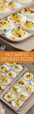 deviled eggs serving dish no mayo deviled eggs a classic party appetizer recipe