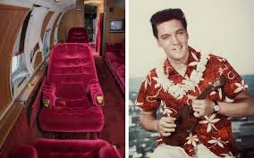 elvis u0027 private jet is up for auction u2014 and it comes with red