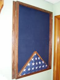 Honor Flag Military Uniform Display Case Memorial Flag Case Award Honor