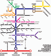 Valley Metro Map by New Coosa River Maps Give You A New Perspective U2013 Coosa Riverkeeper