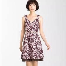 violet dress 85 mcginn dresses skirts mcginn violet print sweetheart