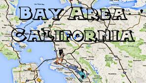 Map Of Greater San Francisco Area by Map Of California U0027s Bay Area Hoods And Bay Area Gangs