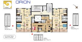 susheela homes u0027orion u0027 luxury apartments in goa floor plan
