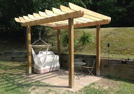 Pergola Rafter End Designs by How To Build A Pergola Coreyms