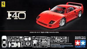 model f40 tamiya f40 model kit