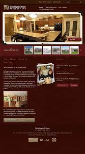 denlinger u0026 sons custom home builders website design web
