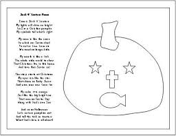 day activities christian pumpkin carving poem color p on