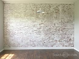 wall interior interior brick wall paint ideas best 25 painted brick walls ideas on