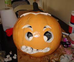 pumpkin head halloween costume 6 steps
