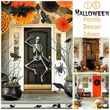 Garden Halloween Decorations 15 Halloween Porch Decor Ideas I Dig Pinterest