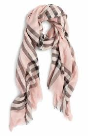 light blue burberry scarf burberry women s pink scarves wraps nordstrom