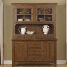 oak china cabinet buffet