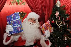 reading grotto lets children meet santa get reading