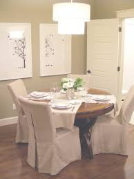 Slipcovered Dining Chair White Slipcovered Dining Chairs Deannetsmith