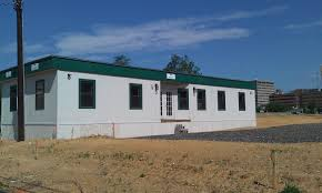 using a modular building for a real estate sales office