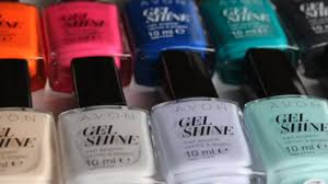ultimate shade guide to avon gel finish nail enamel