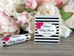 lip balm favors hot pink bridal shower lip balm labels baby shower chapstick