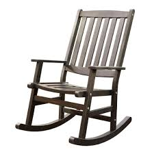 White Patio Rocking Chair by Front Porch Decoration With White Wood Outdoor Folding Rocking