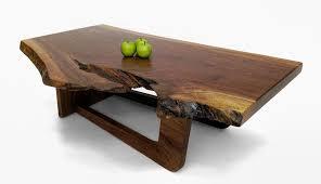 Slab Coffee Table Walnut Slab Coffee Tables Custom Furniture David Stine Woodworking