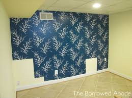 temporary wall paper guest room part 3 temporary wallpaper for an accent wall the