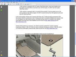 toyota lexus floor mats toyota floor mat recall u0026 temp fix x runner underground