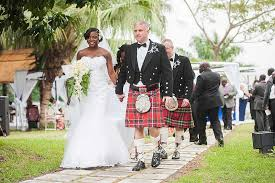 scottish wedding dresses stunning scottish ghanaian wedding in angelea and bruce