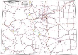 Colorado County Map by Colorado Rafting Colorado Highway Road And City Map