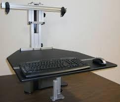 Diy Ikea Standing Desk by Desk Diy Standing Desk Extension Click To Enlarge Standing Desk