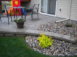Rock Patio Design Landscaping Rock Around Pools Google Search Gardening