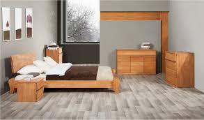chambre bois lit 2 places bona mobilier en bois massif pour chambre à coucher