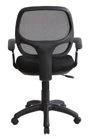 Modern Office Desk Chair by Amazon Com Midback Mesh Task Office Chair Black Kitchen U0026 Dining