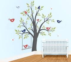 enchanted interiors space saving giant wall stickers singing enchanted interiors space saving giant wall stickers singing birds in a tree