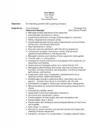 resume objectives writing tips restaurant resume objective resume template