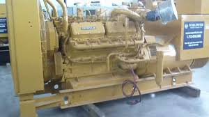 caterpillar 3412 dita diesel generator youtube