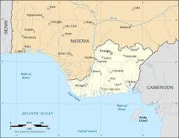 Lagos Africa Map Nigerian Civil War Wikipedia