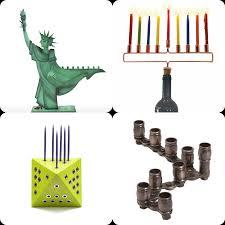 cool menorah 8 menorahs for a creative hanukkah the forward