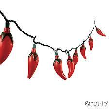 pepper string lights