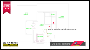 Kerala Home Design First Floor Plan by 1370 Sq Ft Free Kerala Home Design Plans Within Your Budgetreal