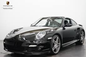 black porsche 911 turbo pre owned 2007 porsche 911 turbo coupe