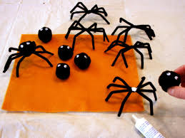 Halloween Pipe Cleaner Crafts How To Make Spider Napkin Rings Hgtv