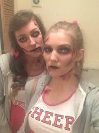 Halloween Costumes Dead Cheerleader Haloween Costume Zombie Cheerleader Makeup Dead Halloween